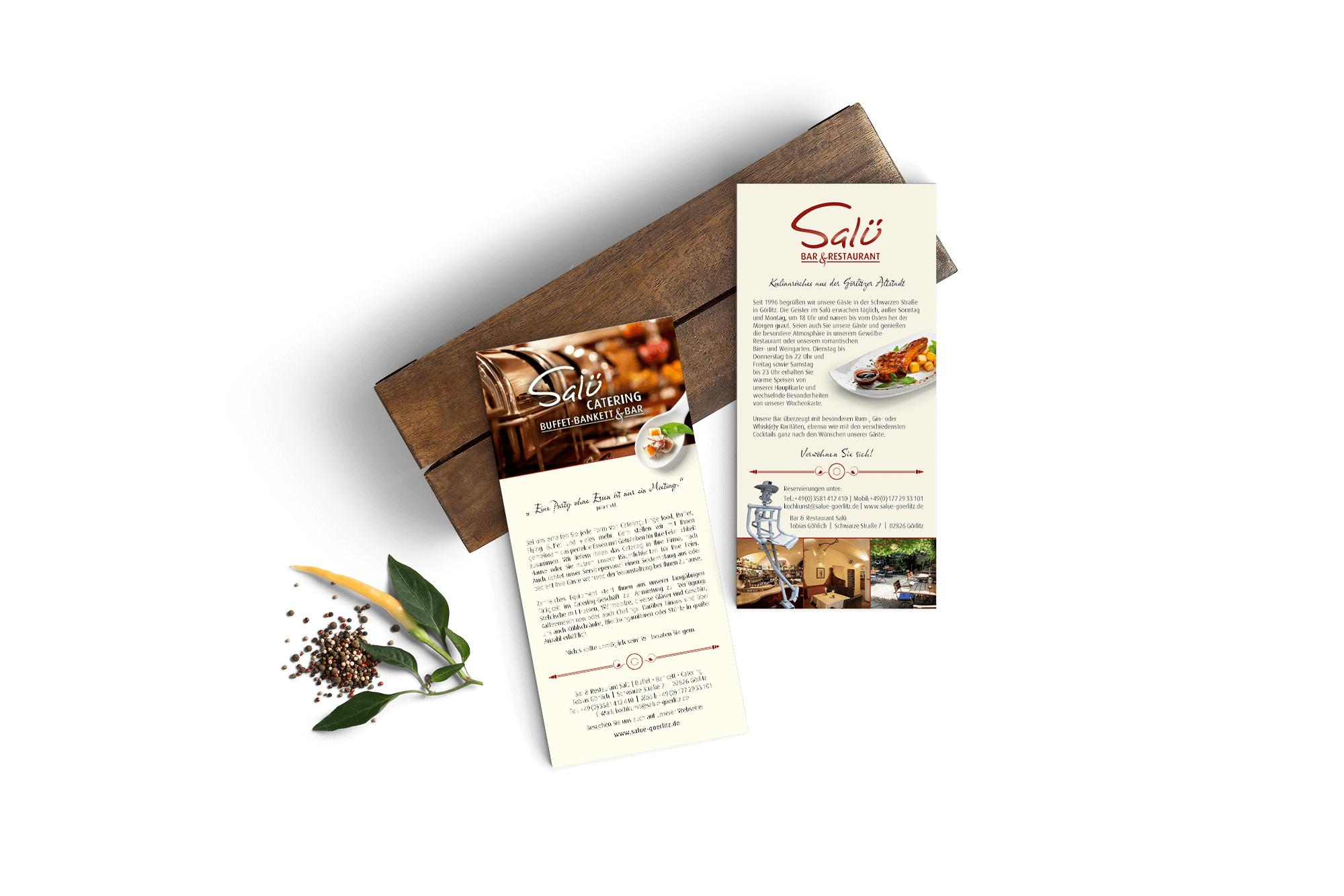 Flyer - Broschüren - Werbung Grafik Design Görlitz
