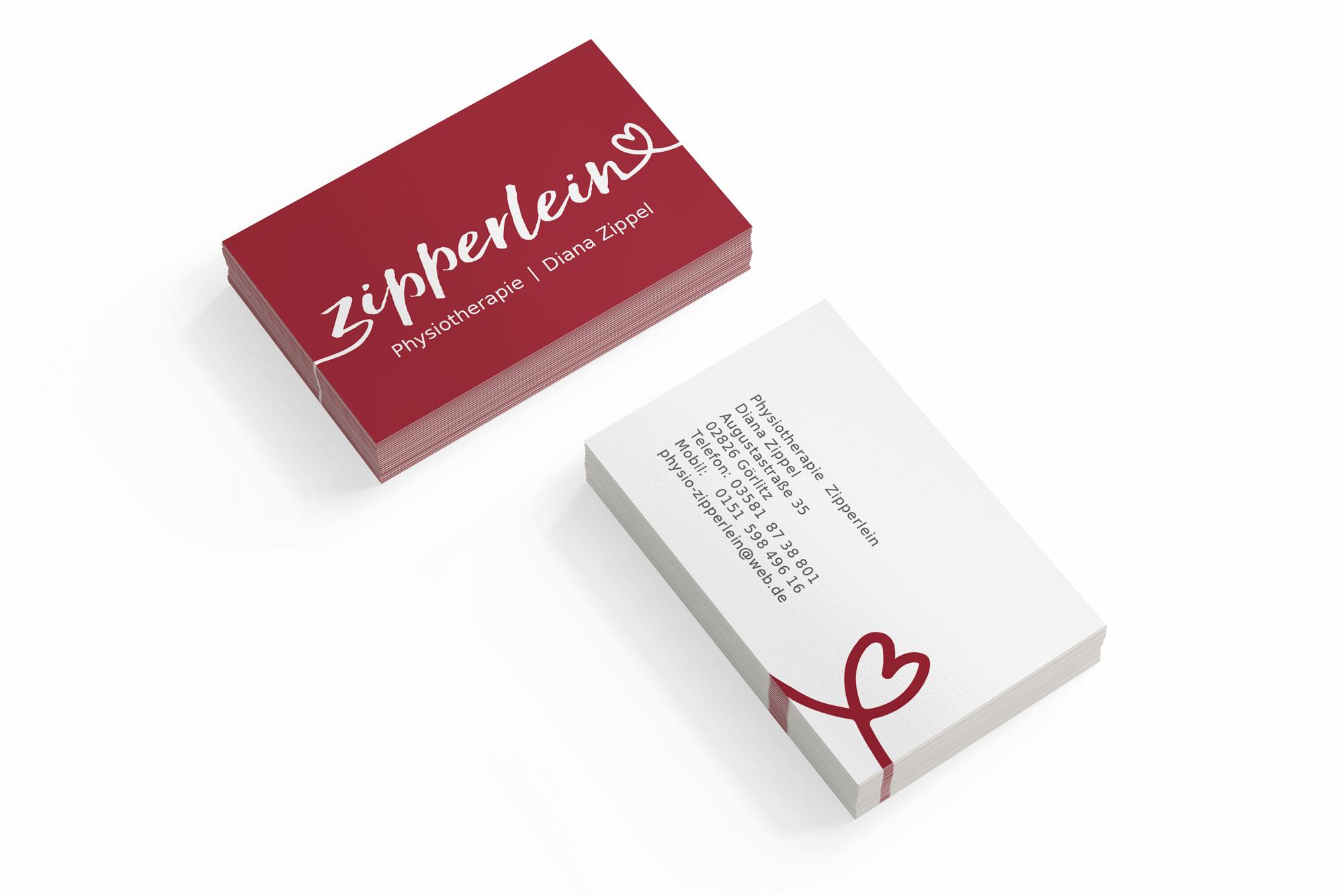 Erstellung Visitenkarte Werbung Grafik Design Görlitz