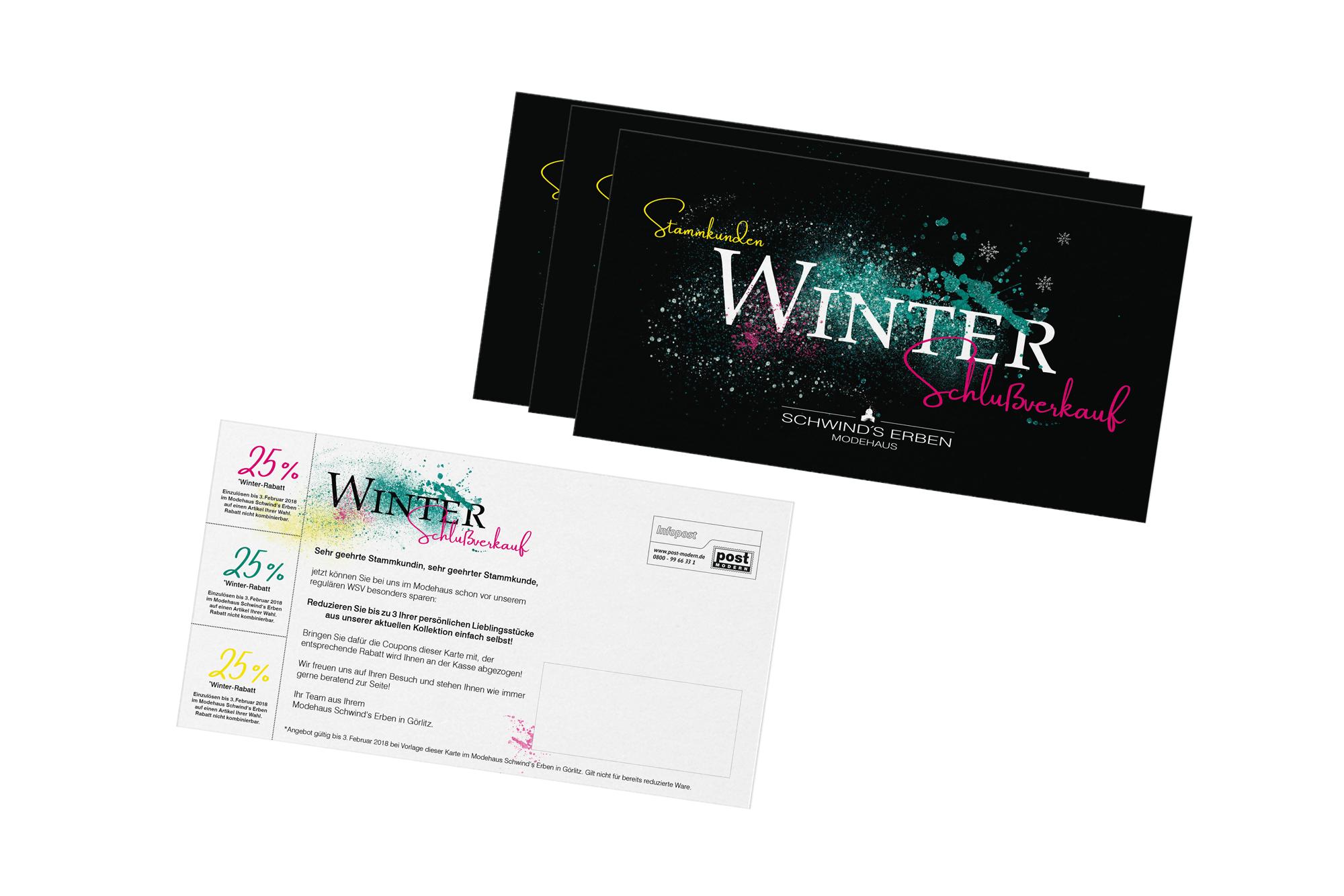 Werbe postkarten werbung grafik design g rlitz for Grafik designer